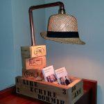 Lampe à chapeaux