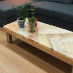 Table basse de palette