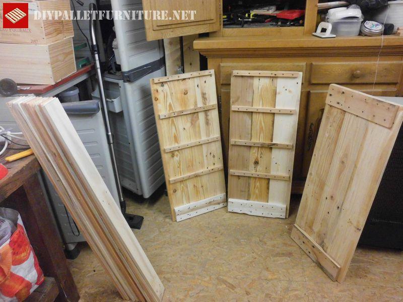 Porte bouteilles et chiffonier avec palettesmeuble en Meuble de cuisine sims 4 qui s imbrique