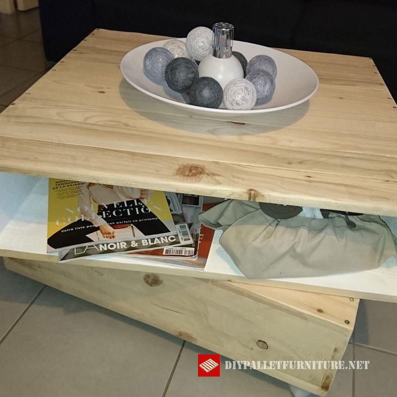 grande table caf designmeuble en palette meuble en palette. Black Bedroom Furniture Sets. Home Design Ideas