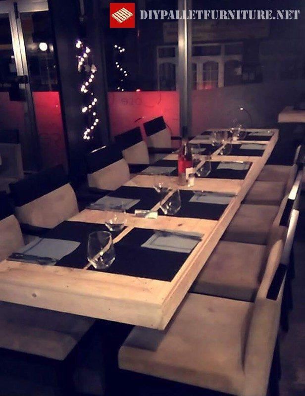 Tables de bar avec palettes 3meuble en palette meuble en - Meuble bar en palette ...