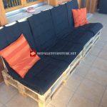 Canapé pour la terrasse étape par étape