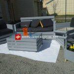 Bel ensemble de meubles pour la terrasse