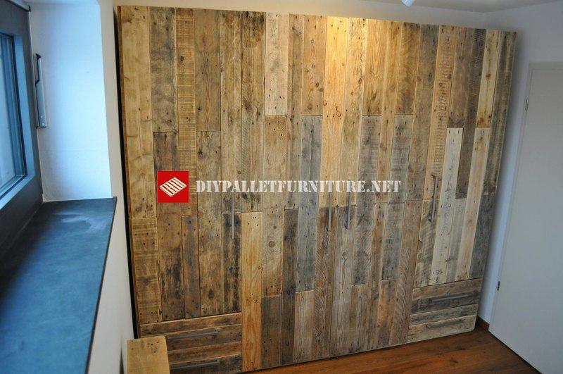 armoires de palettesmeuble en palette meuble en palette. Black Bedroom Furniture Sets. Home Design Ideas