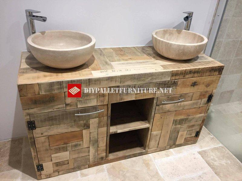 Emejing Meuble Vasque Palette Images - House Design - marcomilone.com