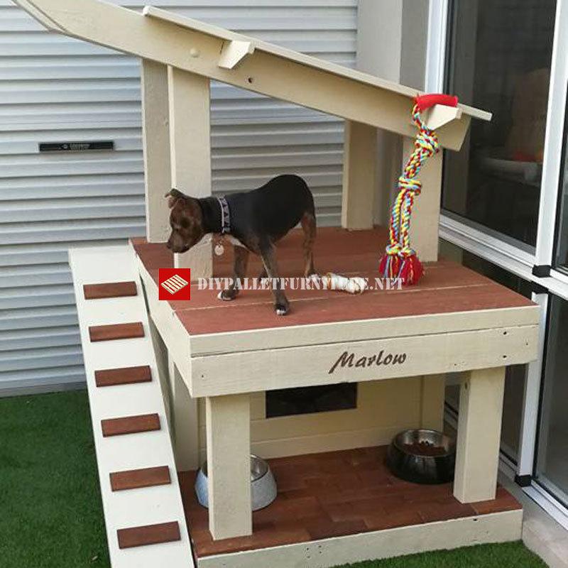 maison de chien avec gazebomeuble en palette meuble en palette. Black Bedroom Furniture Sets. Home Design Ideas