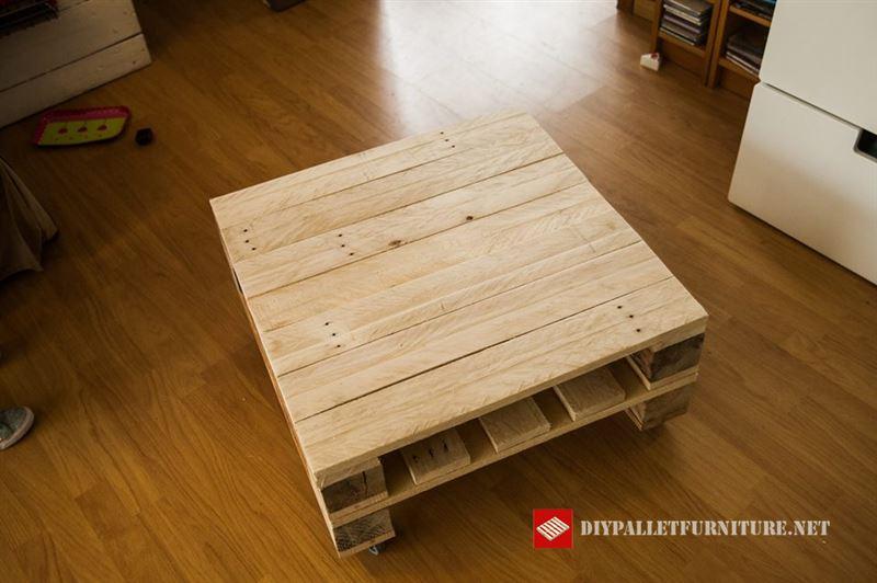Vid o de la fa on de construire une table avec des palettesmeuble en palette - Construire une table avec des palettes ...