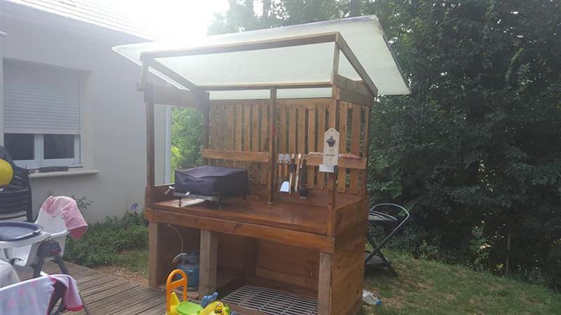 barbecue fait avec des palettesmeuble en palette meuble en palette. Black Bedroom Furniture Sets. Home Design Ideas