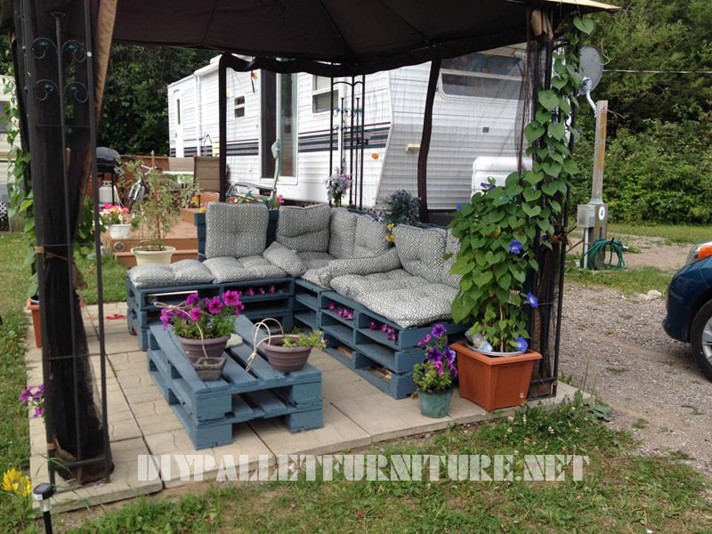 Beautiful Salon De Jardin En Palette Vente Images - Amazing House ...